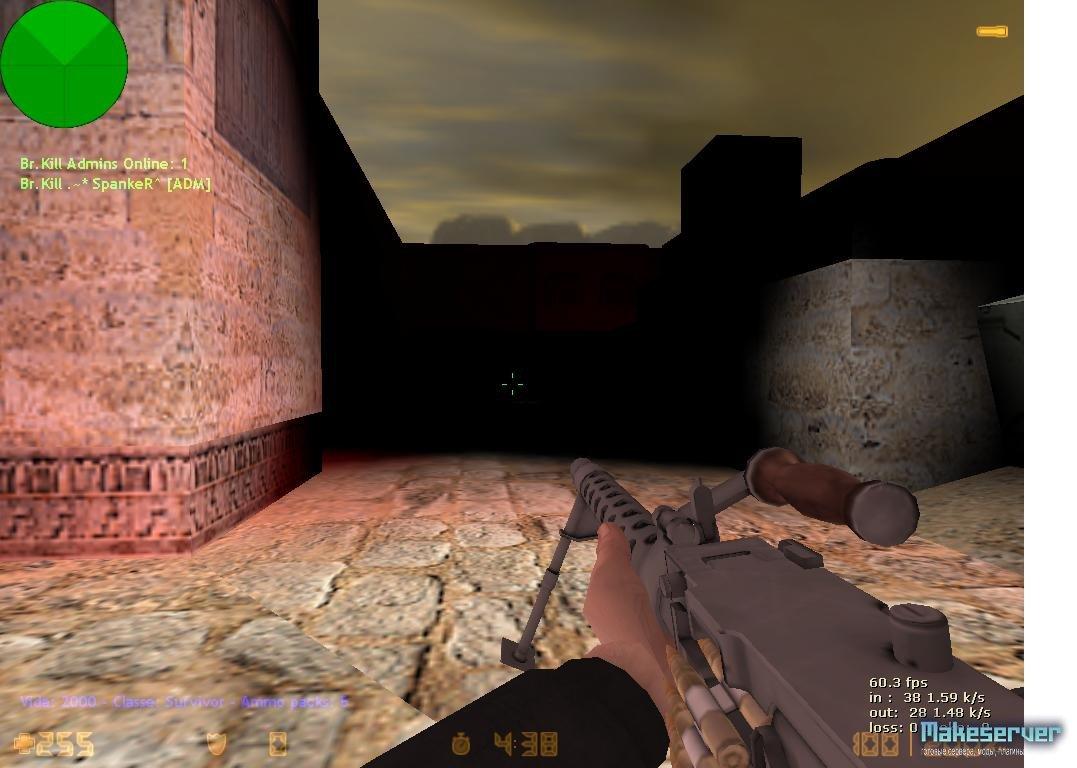 Классы Зомби » Зомби мод » Counter-Strike 1.6