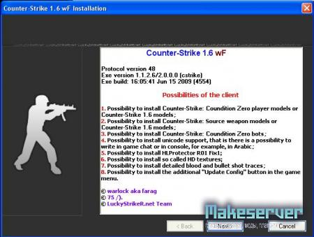 Counter-Strike wF 1.2.2