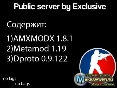 Public server by Exclusive [LINUX]