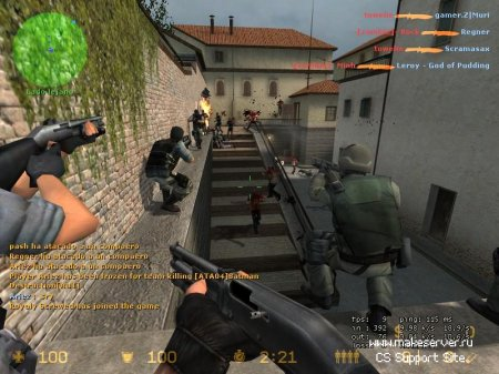 Готовый Zombie Сервер для Counter-Strike Source