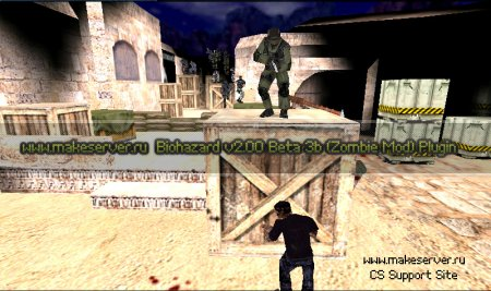 Biohazard v2.00 Beta 3b (Zombie Mod) Plugin for Cs 1.6