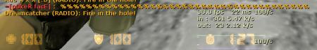% bug fix