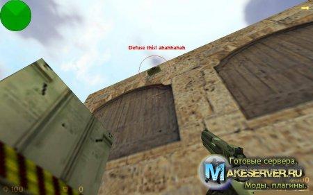 Sillyc4, Плагин позволяет Ставить с4 на стены