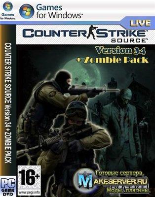 Counter-strike source zombie mod (2009/RUS)