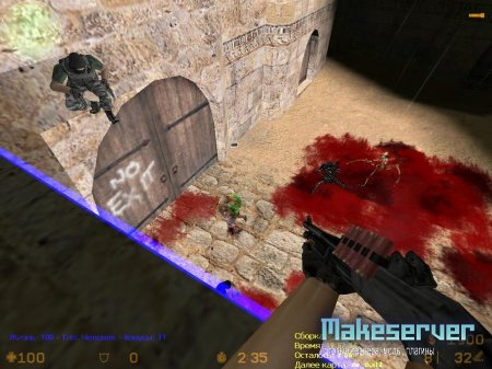 Zombie Plague Mod 4.3 (cs 1.6) с ботами + детматч!(Full Version)