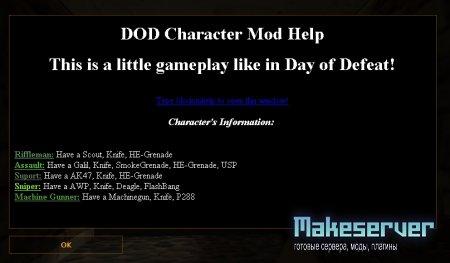 DOD Characters Mod v1.0.4