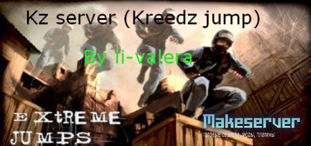 Kreedz jump server by li-valera (kz server)